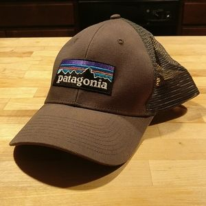 Grey Patagonia Trucker Hat